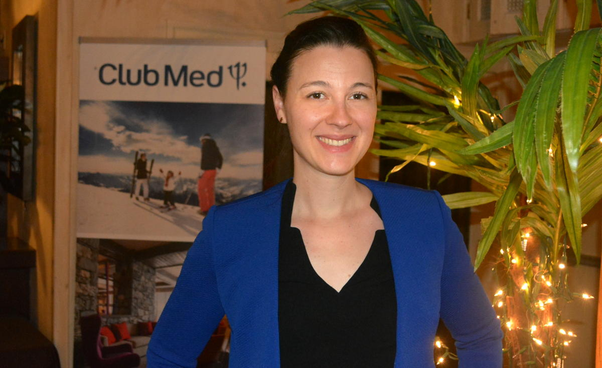 Amelie Brouhard, vice president, Canada and Mexico at Club Med