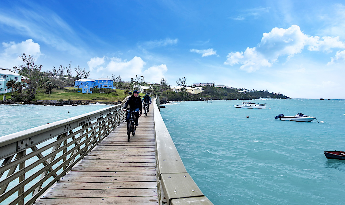 GET ACTIVE. Bermuda's Railway Trail spans 18 miles across the island. Photo: Bermuda Tourism Authority