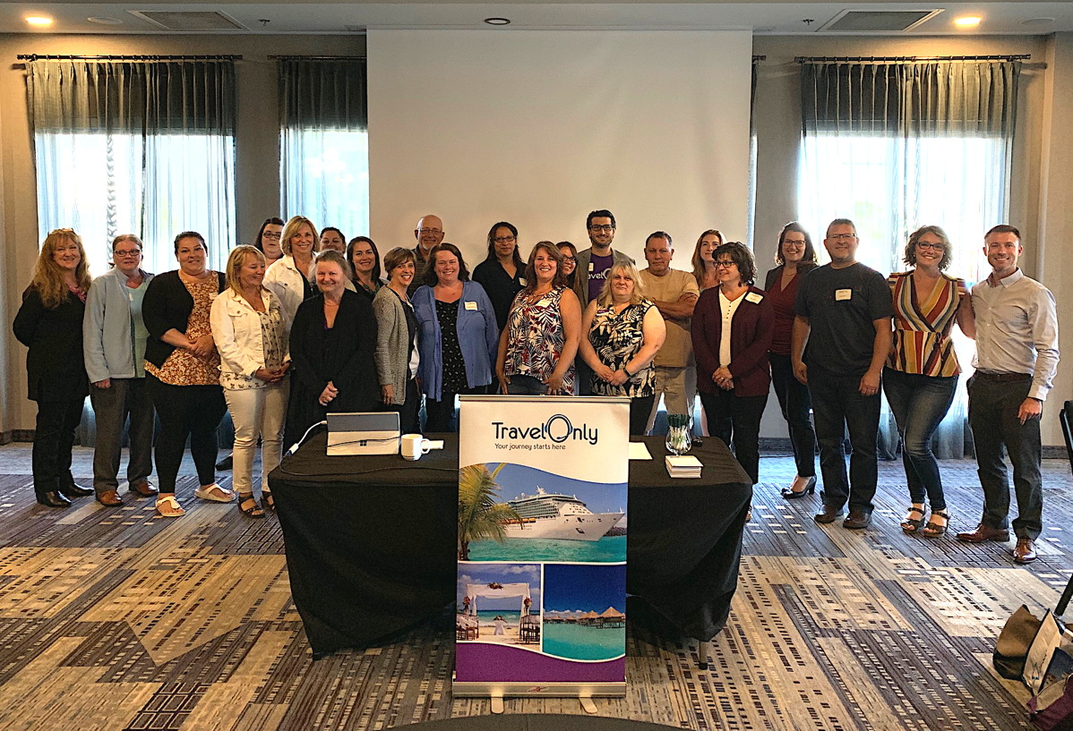 """It was an East Coast gathering,"" said Ian Elliott of TravelOnly's Moncton event in June (above). Photo courtesy of TravelOnly."