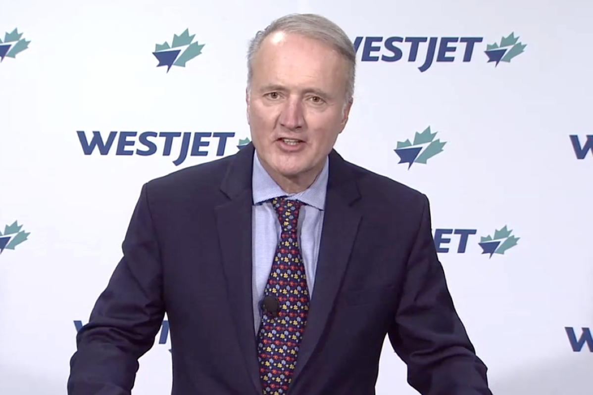 Ed Sims, WestJet President and CEO. (file photo)