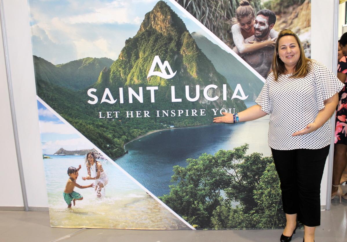 Jeanette Faria, directrice du marketing du Canada pour la Régie du tourisme de Sainte-Lucie.
