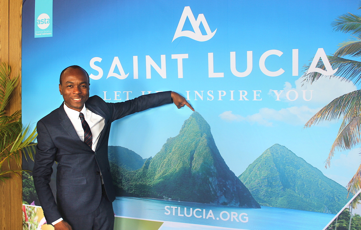 The Hon. Dominic Fedee, Minister of Tourism, Information and Broadcasting, Culture and Creative Industries for Saint Lucia.