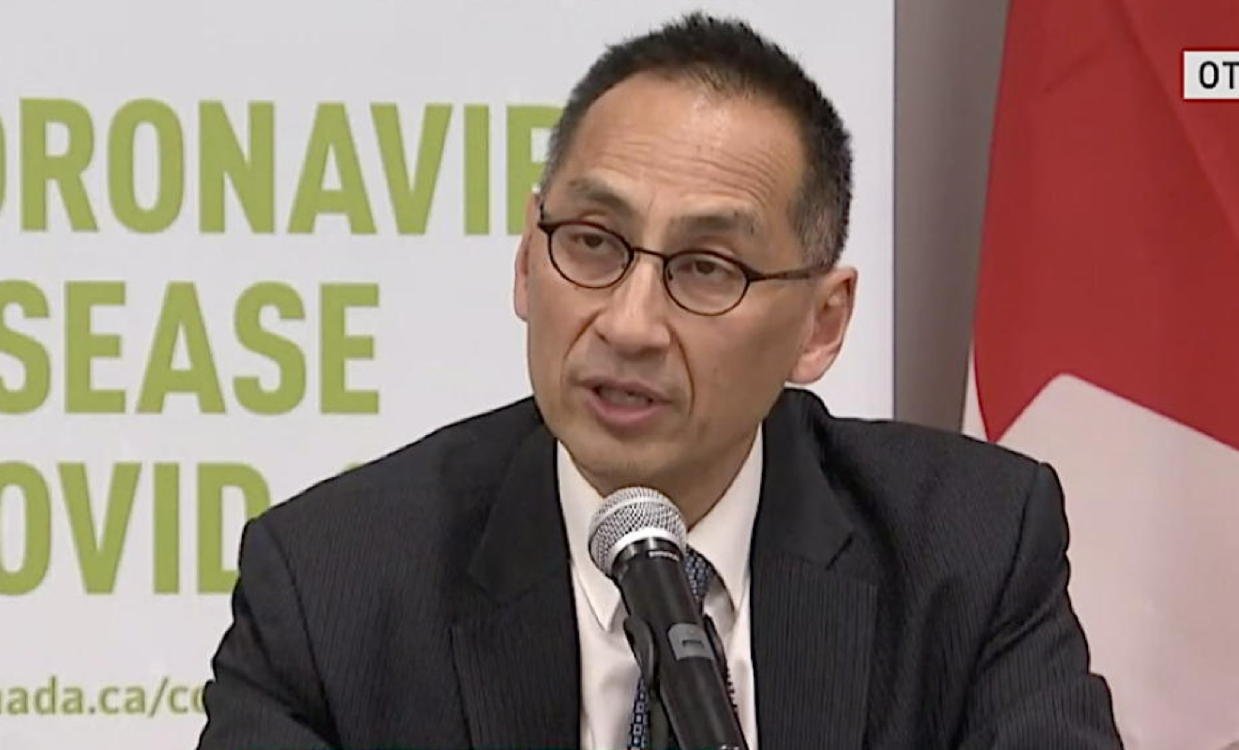 Canada's Deputy Chief Public Health Officer Dr. Howard Njoo (CBC News)