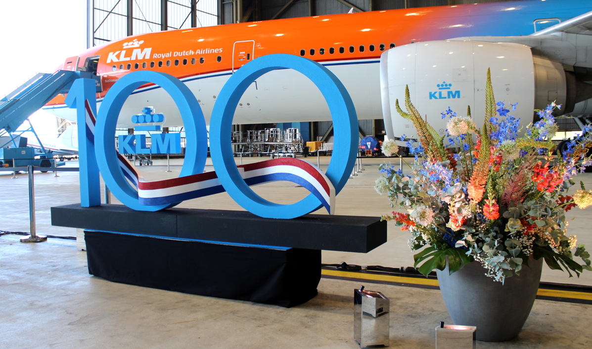 "KLM's 100th anniversary will mark a special day in Dutch aviation. ""The relevance of KLM and Dutch society is huge,"" Mr. Elbers said."