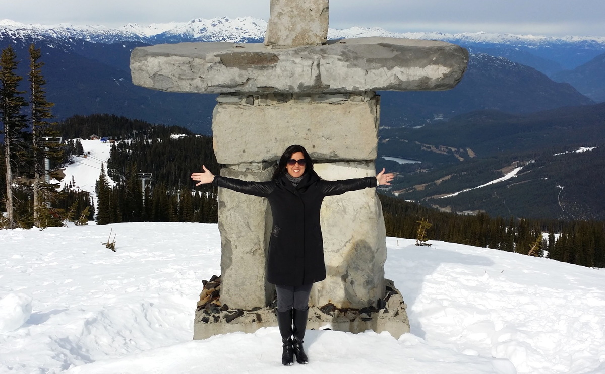 Sophie Raymond, seen here in Whistler, British Columbia. Photo courtesy of Sophie Raymond.