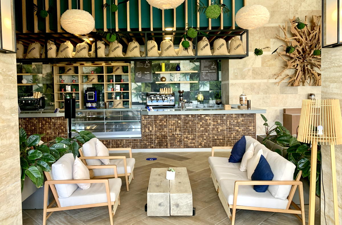 Hilton La Romana All-Inclusive Adult Resort's newly-opened coffee shop.