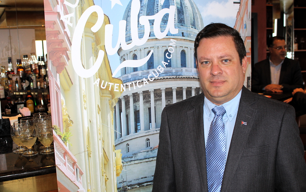 """""""My mission is to work together with travel agents and agencies,"""" said Lessner Gomez, the recently-appointed director of the Cuba Tourist Board in Toronto."""