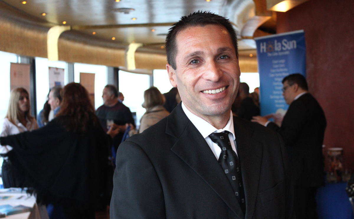 Ivan Pierri, room division manager for MGM Muthu Hotels Cuba.