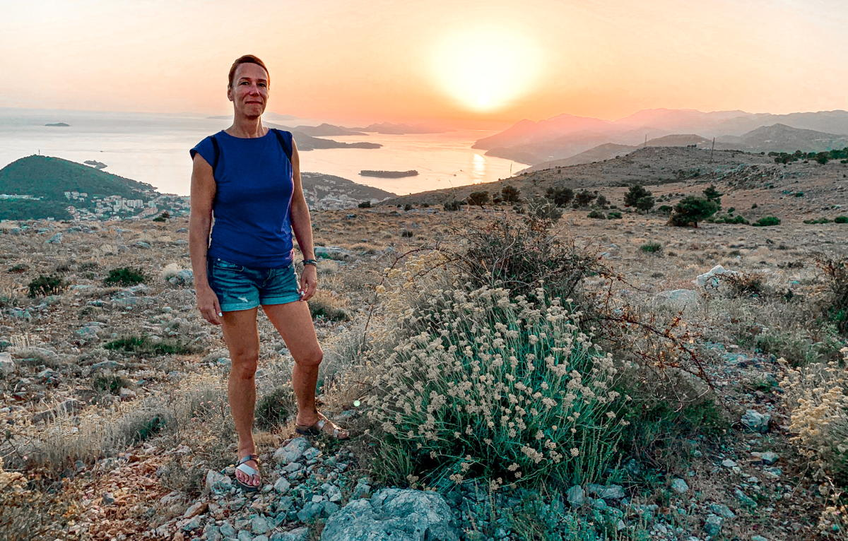 """My passport is my therapy,"" says travel advisor Tannis Dyrland. (Supplied)"