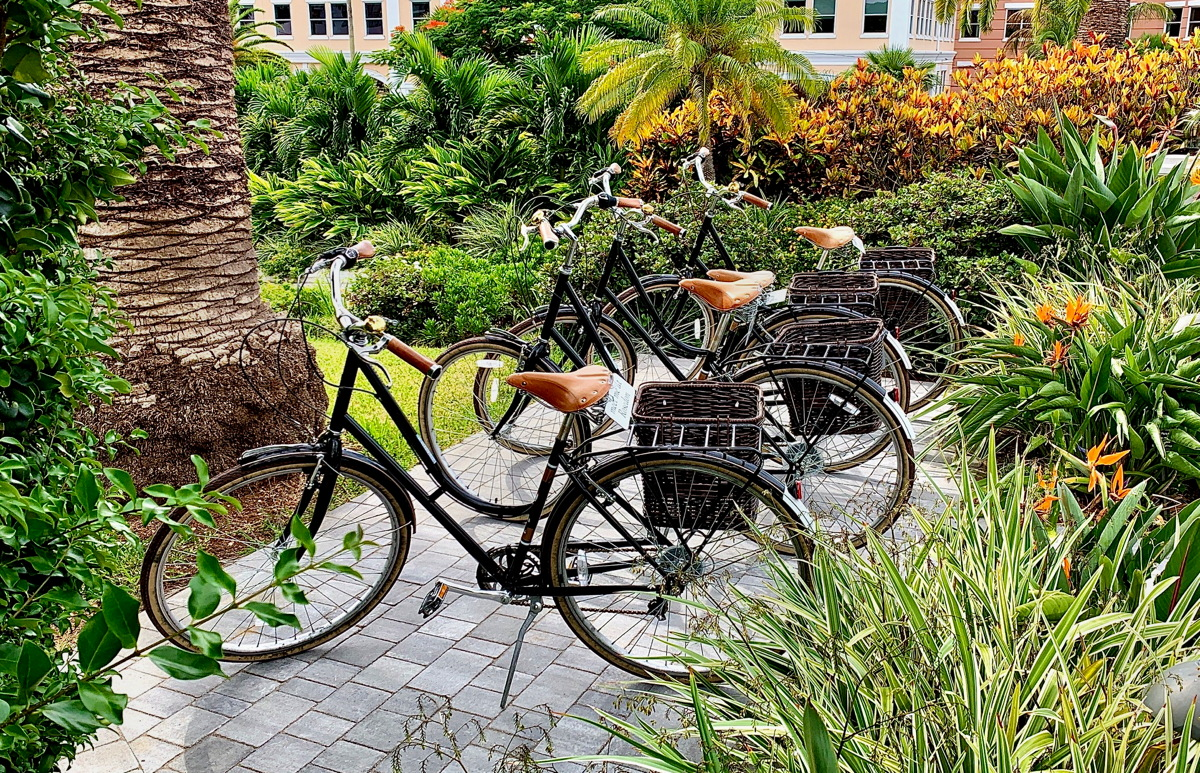 BIKE TIME. The Rosedon Hotel is a boutique, old-world escape in Hamilton.