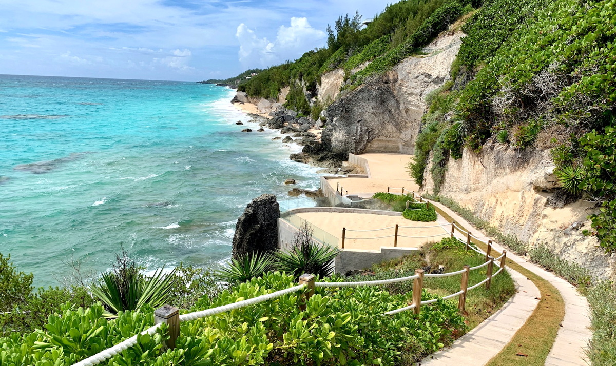 PICTURE PERFECT. Bermuda a 21-square-mile island that blends British, North American and Caribbean influences.