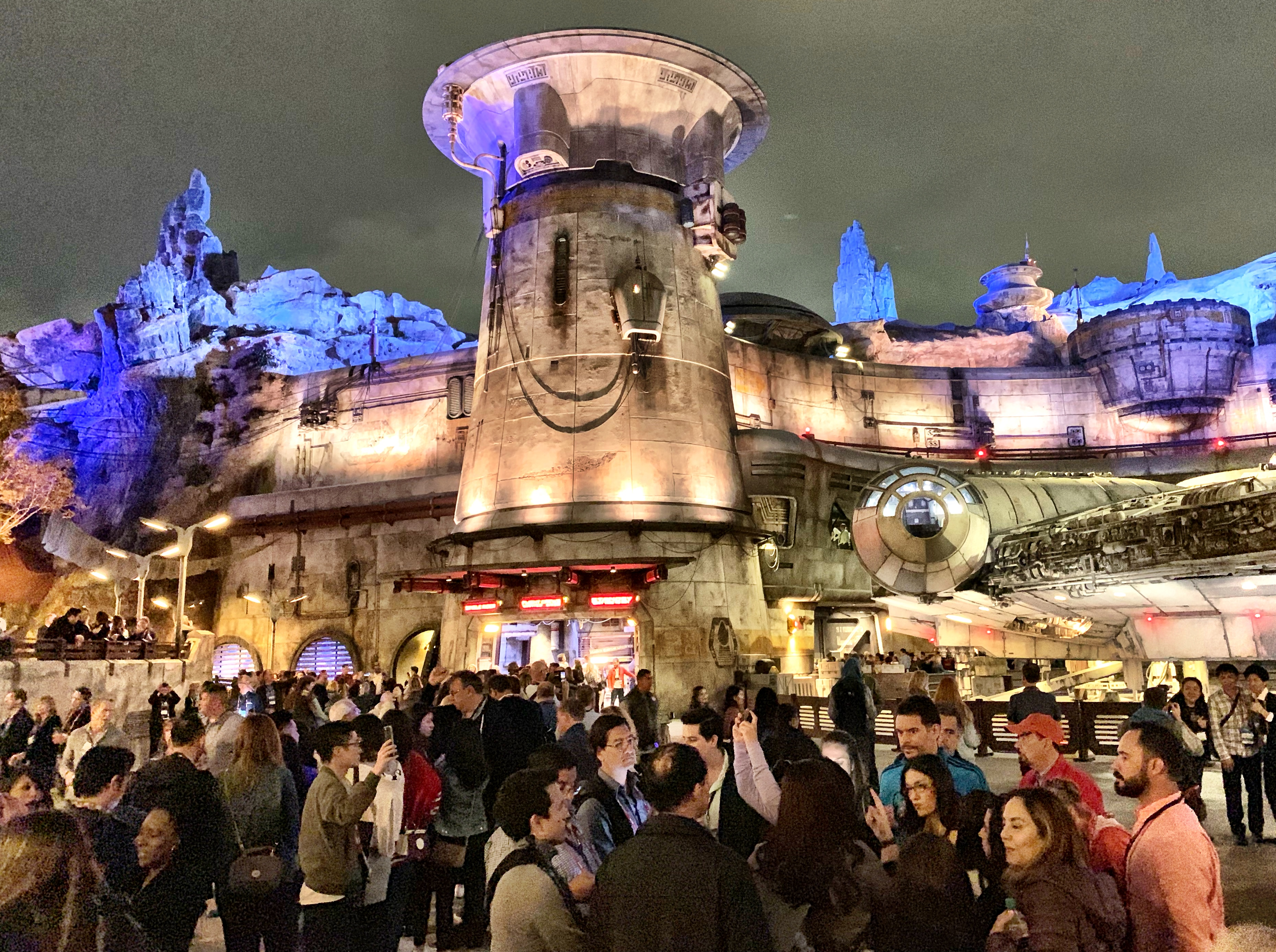 MAY THE FORCE BE WITH YOU. Delegates at IPW explore Star Wars: Galaxy's Edge at Disneyland Park in Anaheim, California.