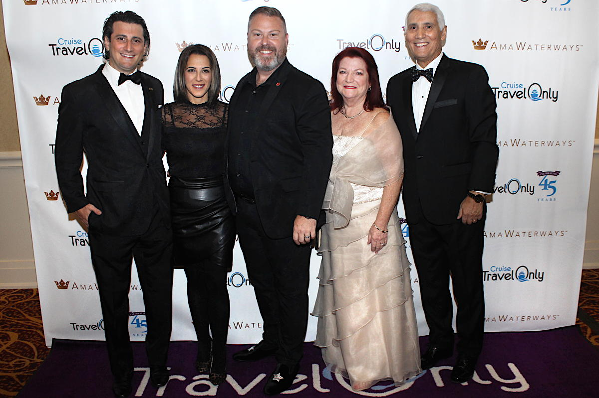 From left: Gregory Luciani, Erminia Nigro, Aaron Crawford, Ann and Patrick Luciani.