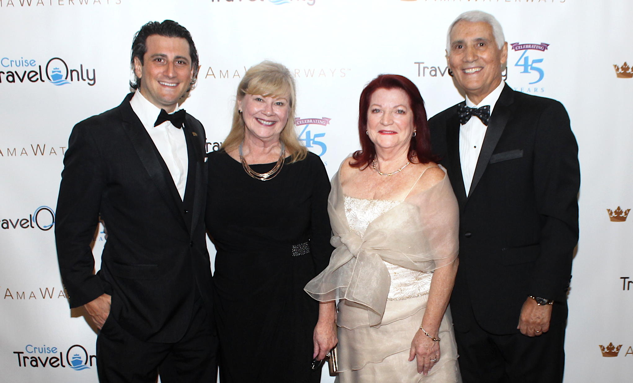 From left: Gregory Luciani, Kim Barbisan, Ann and Patrick Luciani.