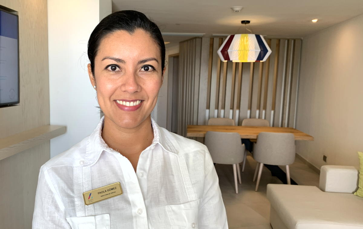 Paola Gómez, director of sales and marketing at Hyatt Ziva and Hyatt Zilara Cap Cana.