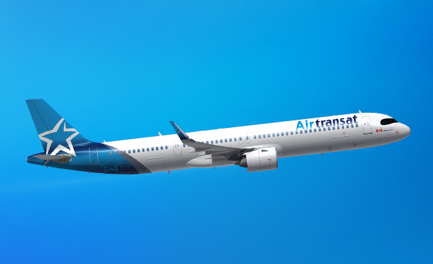 PLANE POWER. Transat is adding 15 new Airbus A321neoLRs to its fleet. Photo: airtransat.com