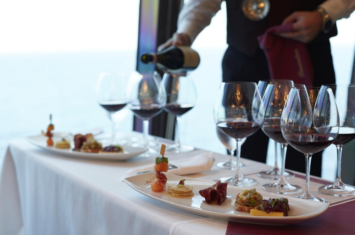 With gastronomy being a major part of a cruise experience, food- and wine-themed cruises are a logical fit. Photo: Oceania