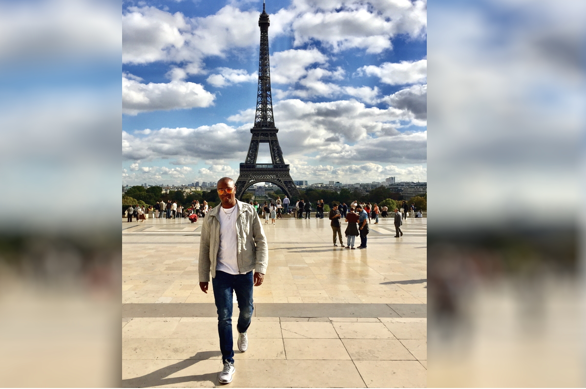 PARIS CALLING. Brian Joseph has worked in the travel industry for more than 20 years. Photo courtesy of Brian Joseph.