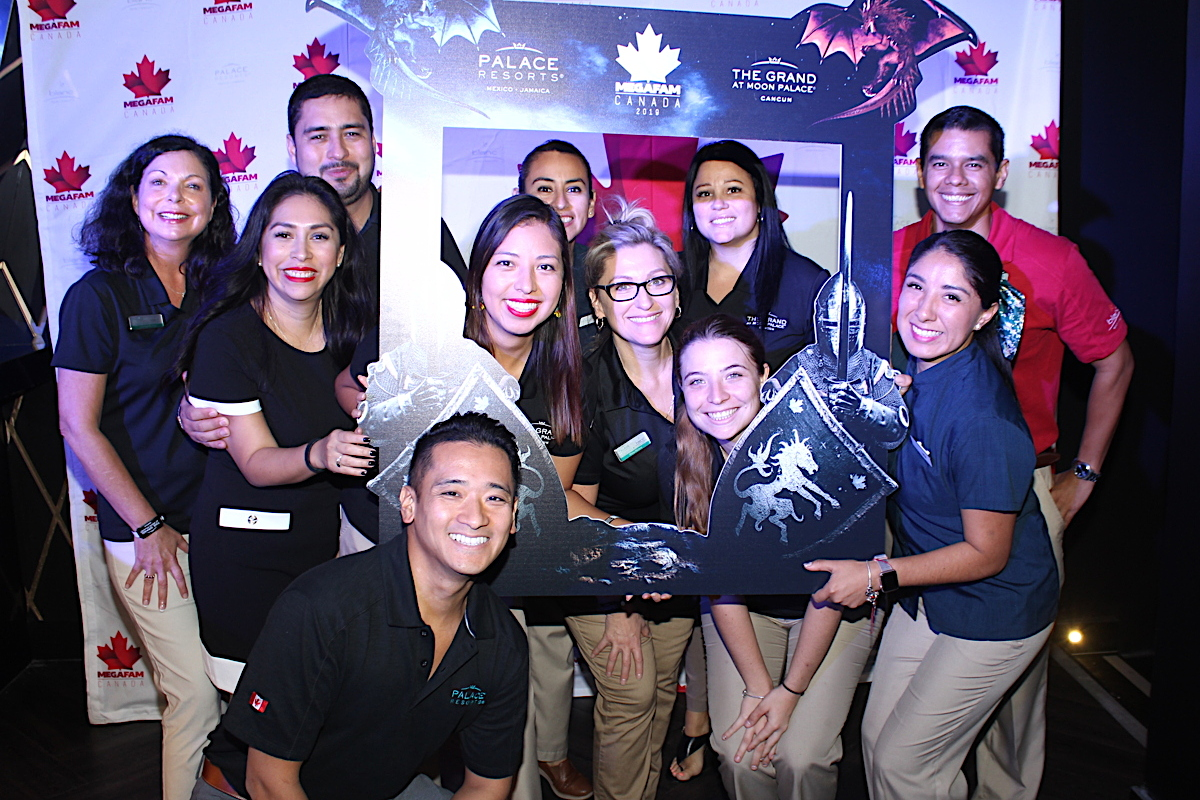 "The Palace team has welcomed nearly 160 travel agents into their ""kingdom"" for the week."