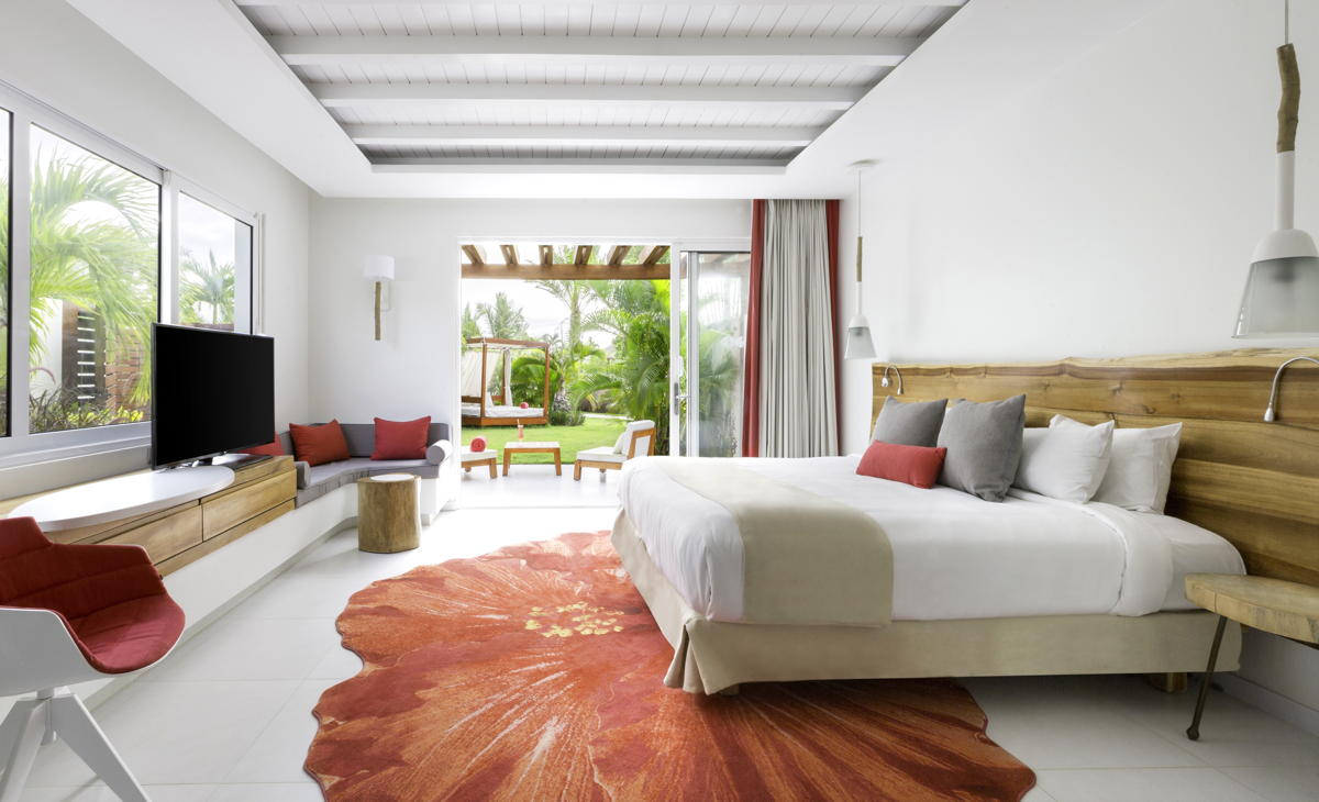 Inside a Zen Oasis room at Club Med Punta Cana. (Club Med)