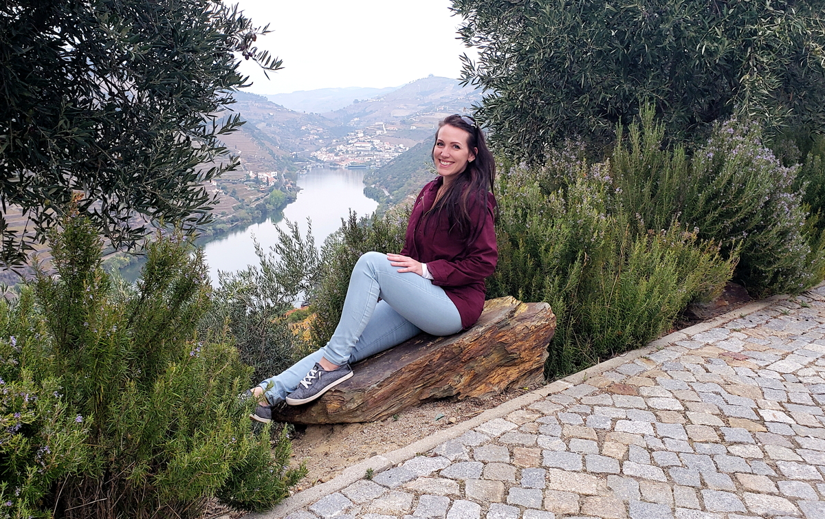"""I want to make sure I'm always supporting my agencies, equipping them with new tools and knowledge as best I can,"" says Cardona, seen here in In Portugal looking over the Douro river. Photo courtesy of Krista Cardona."