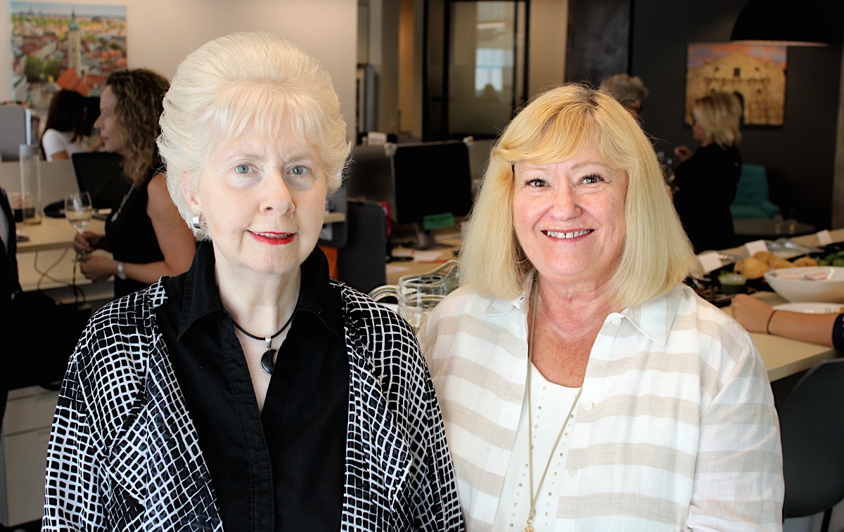 Ruth Williamson (left) & Susan Webb (right) at VoX International's Toronto headquarters.