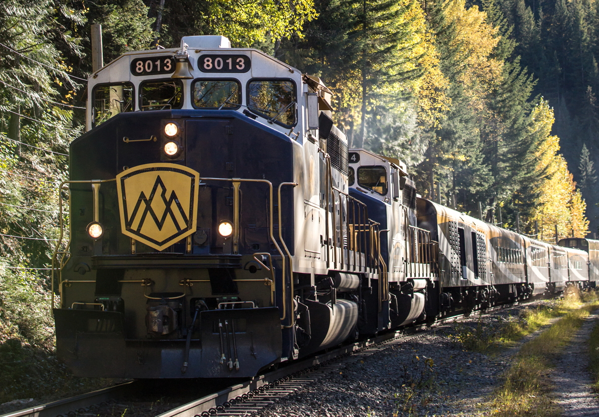 Canada's own Rocky Mountaineer will be featured in the Season 2 premiere of Mighty Trains on Sun., Oct. 14th. Photo courtesy of Bell Media.