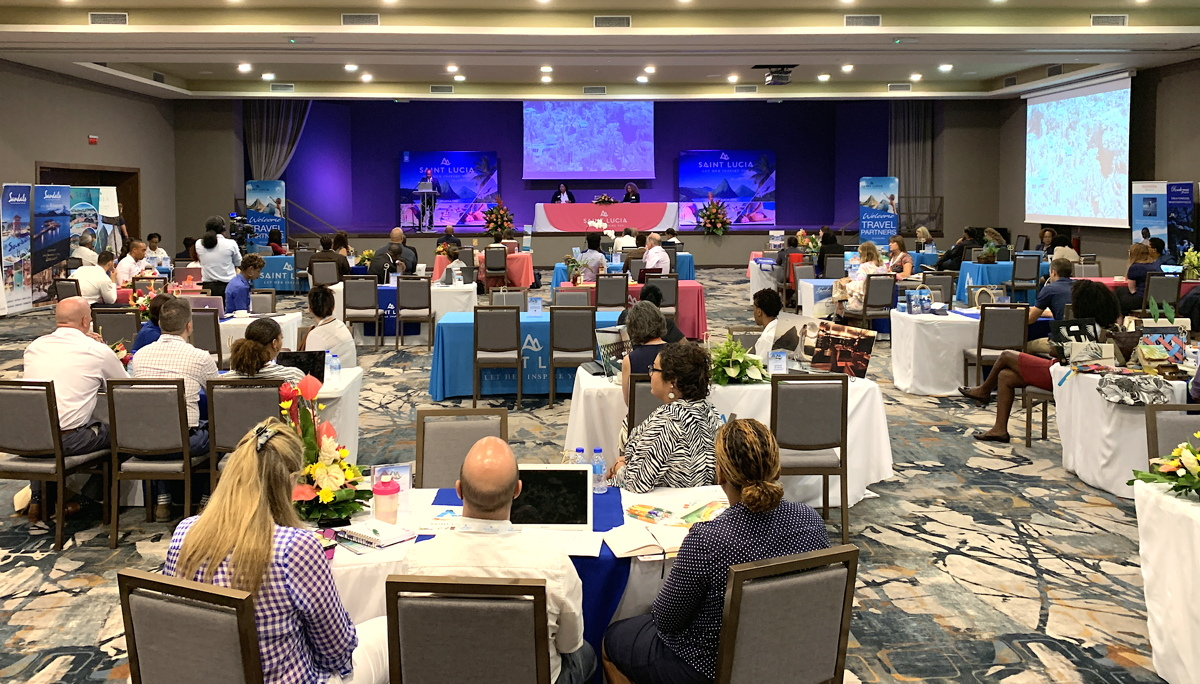 Tour operators from Canada & the U.S. gather in Saint Lucia for the island's 7th annual North American Showcase.
