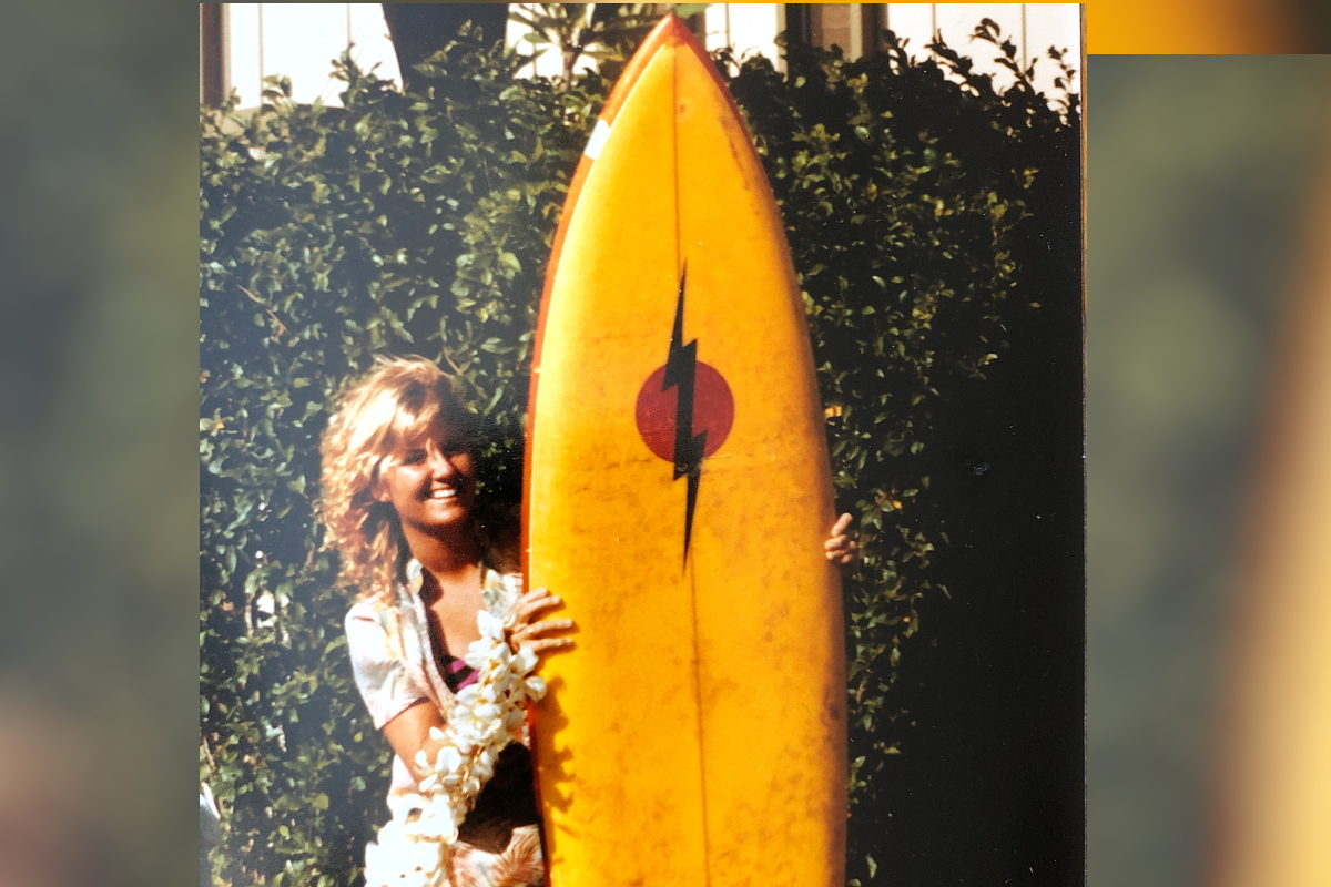 THROWBACK. Yeomans, once upon a time in Maui, where her passion for travel began. Photo courtesy of Brenda Lynne Yeomans.