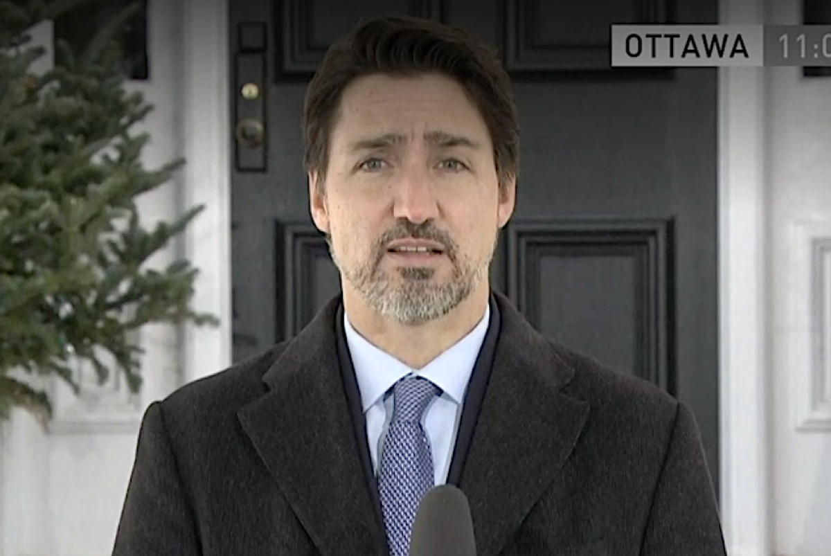 """Normality as it was before will not come back full-on until we get a vaccine for this,"" said Prime Minister Justin Trudeau (file photo/CBC News)"
