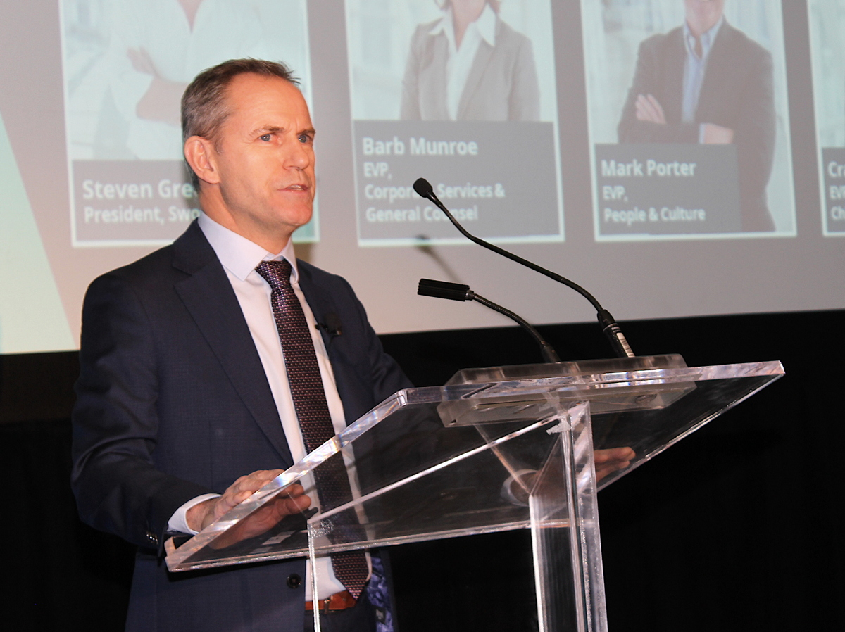 Tim Croyle, executive vice president, commercial at WestJet,