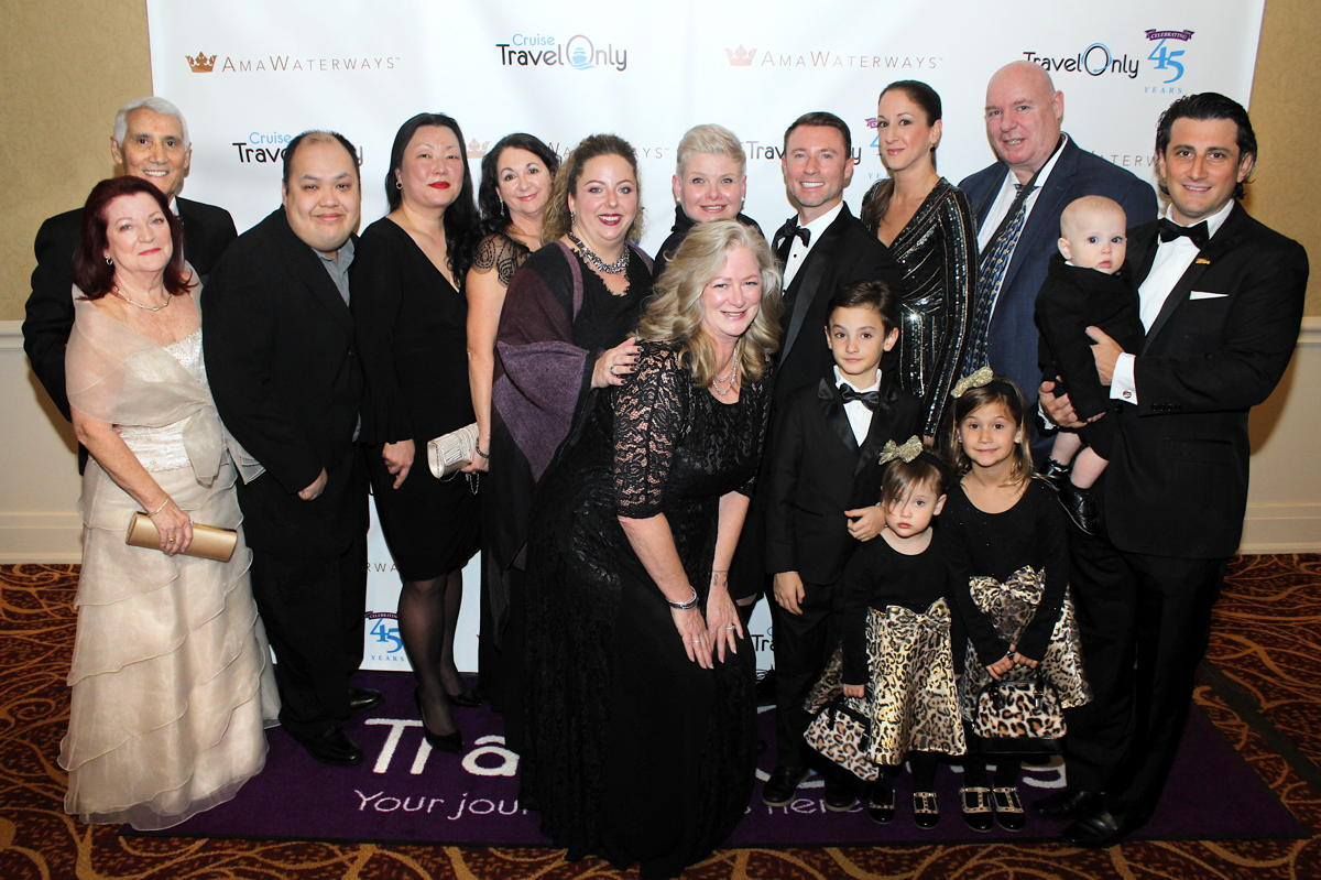 The TravelOnly head office team with Patrick at TravelOnly's TADA Awards in January. (Pax Global Media)