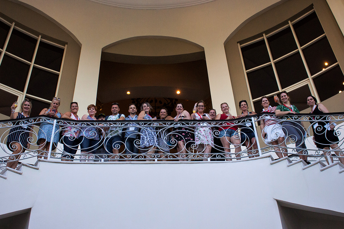 A few agents visiting Iberostar Hotel & Resorts, Rose Hall Suites, and Grand Rose Hall