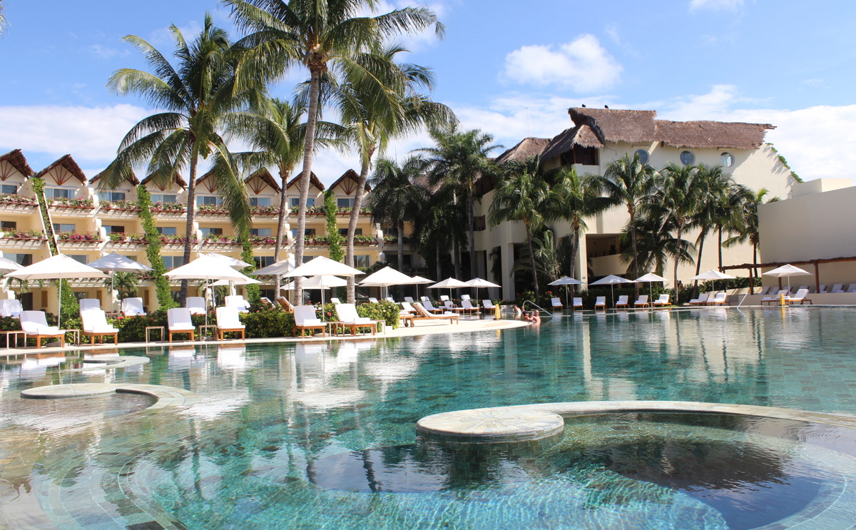 SWIM TIME. Poolside at Grand Velas Rivera Maya (file photo)