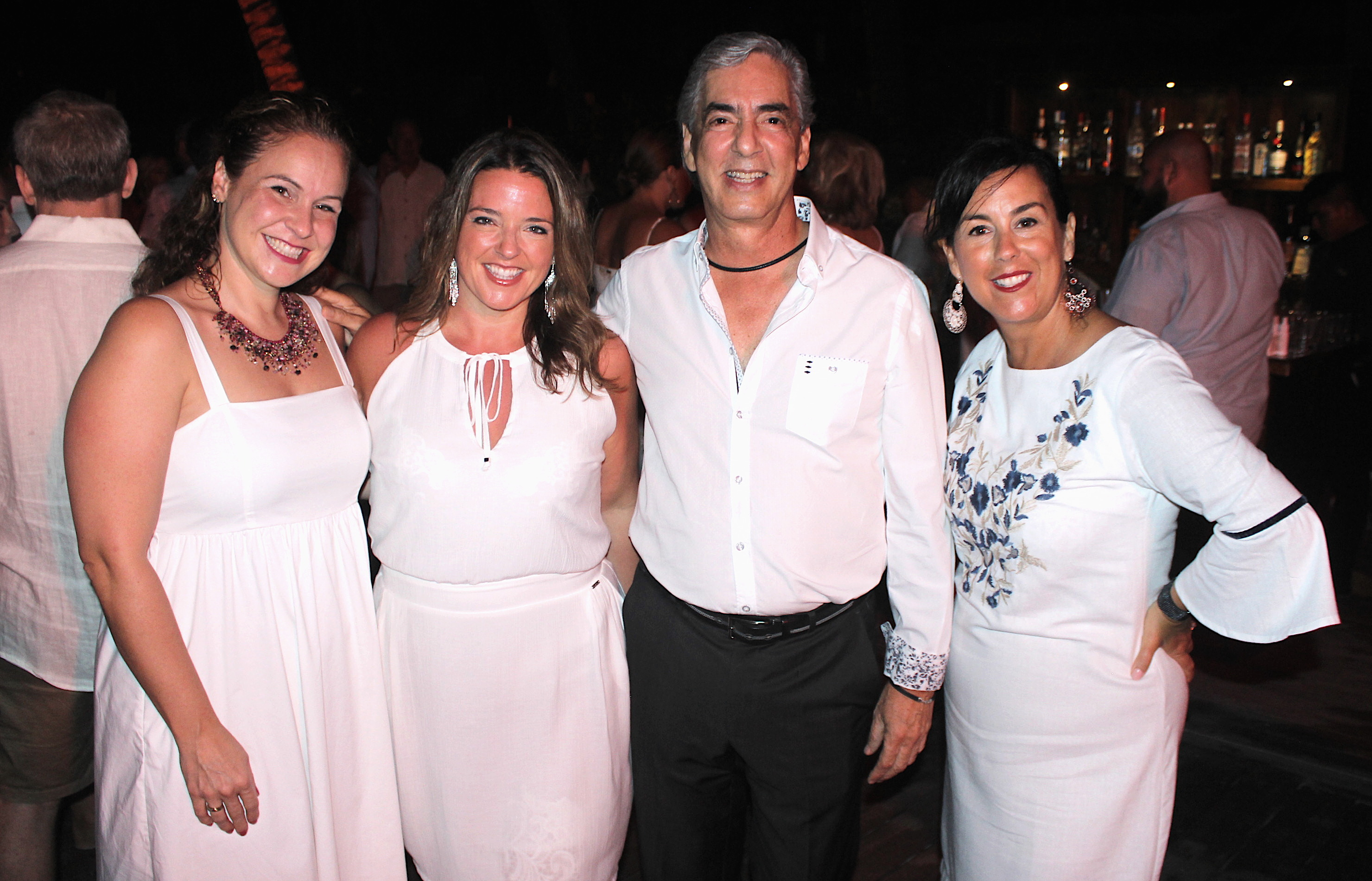 From left: Caroline Boily, groups and incentives manager, Voyages Laurier du Vallon; Evelyne Mayrand, co-owner, Club Voyages Orientation; Juan Vela Ruiz, vice-president, Velas Resorts; Sophie Raymond, regional sales manager, Canada, Velas Resorts.