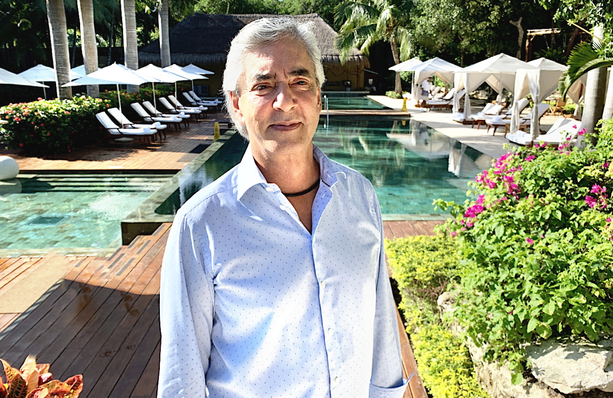 """You have to live it to believe it,"" Juan Vela Ruiz, vice-president of Velas Resorts, told PAX about his resorts. (File photo)"