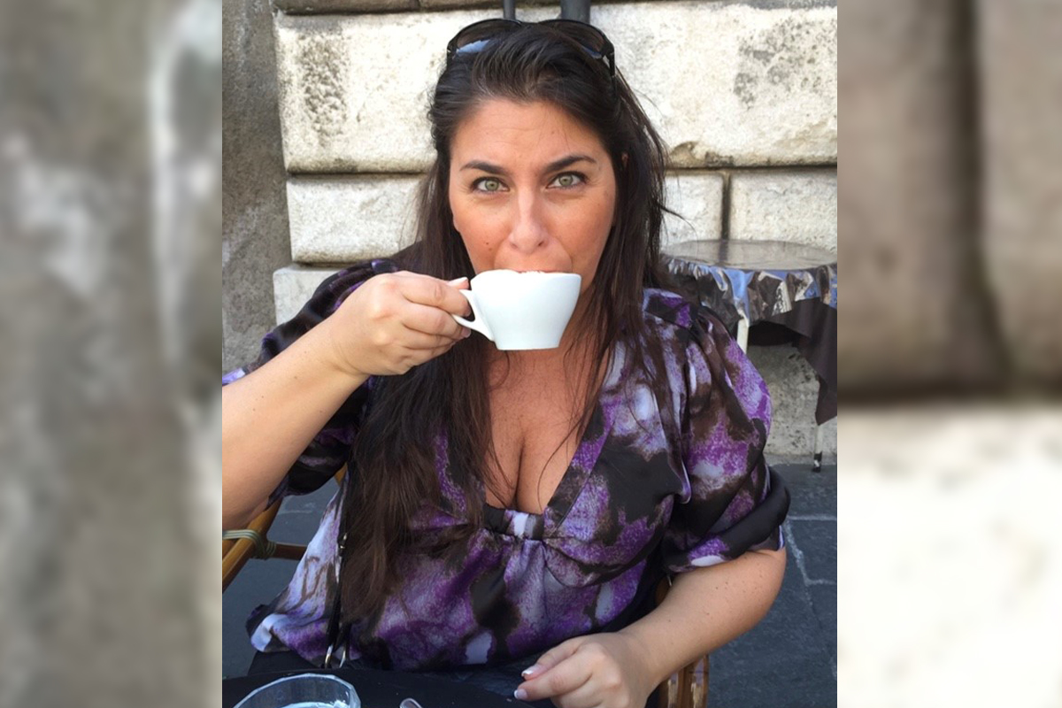 Taking time out for a cappuccino in Italy. Photo courtesy of Monique Lalonde