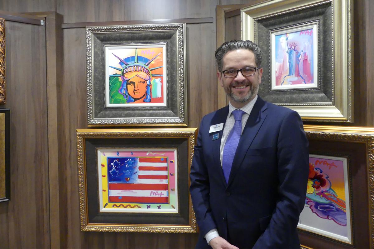 Derek Lloyd, NCL's national director of sales, Canada.