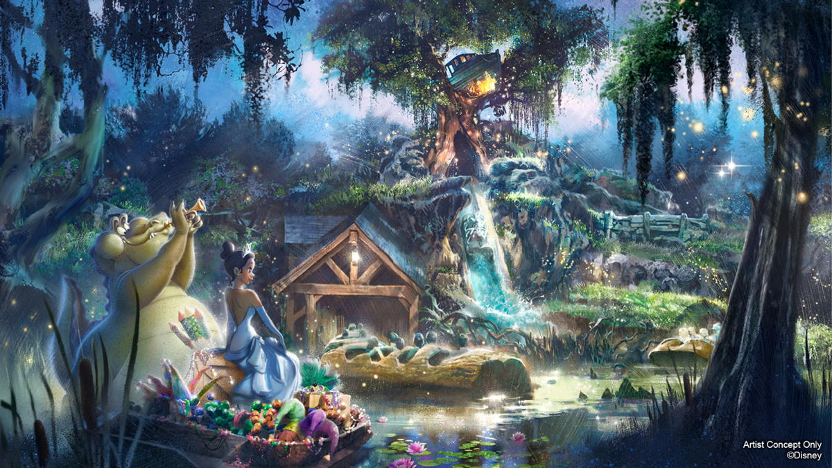 Disney will be revamping Splash Mountain to reflect its 2009 film The Princess and the Frog. (Disney)