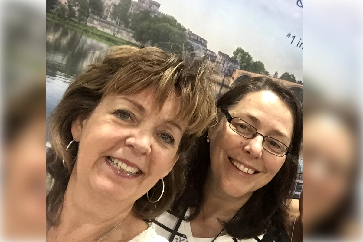 Elaine Simpson (left) and Ana Tremblay, co-owners of Algonquin Travel & Cruise Centre. (Supplied)