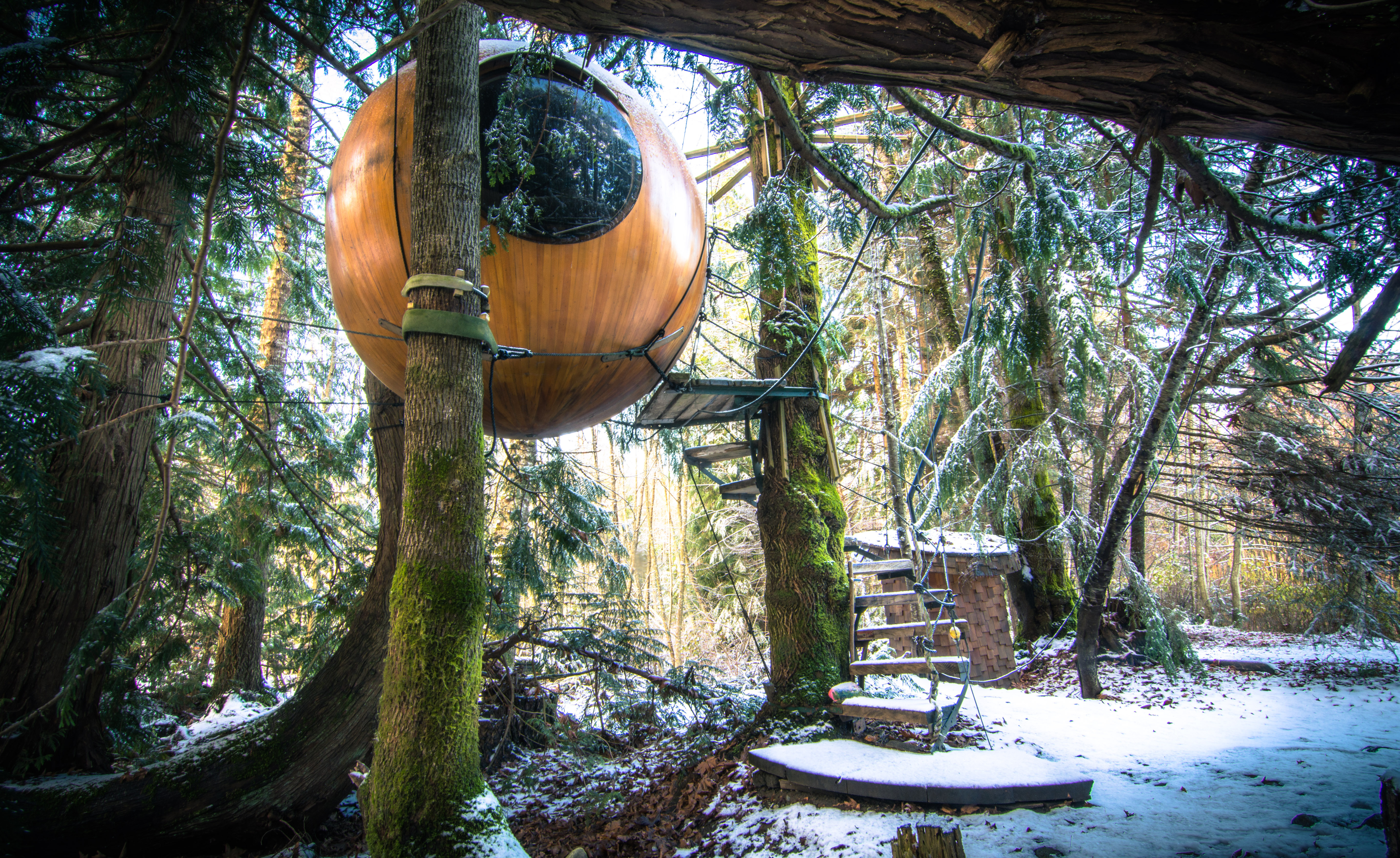 Free Spirit Spheres (Photo credit: Kerry Maguire)