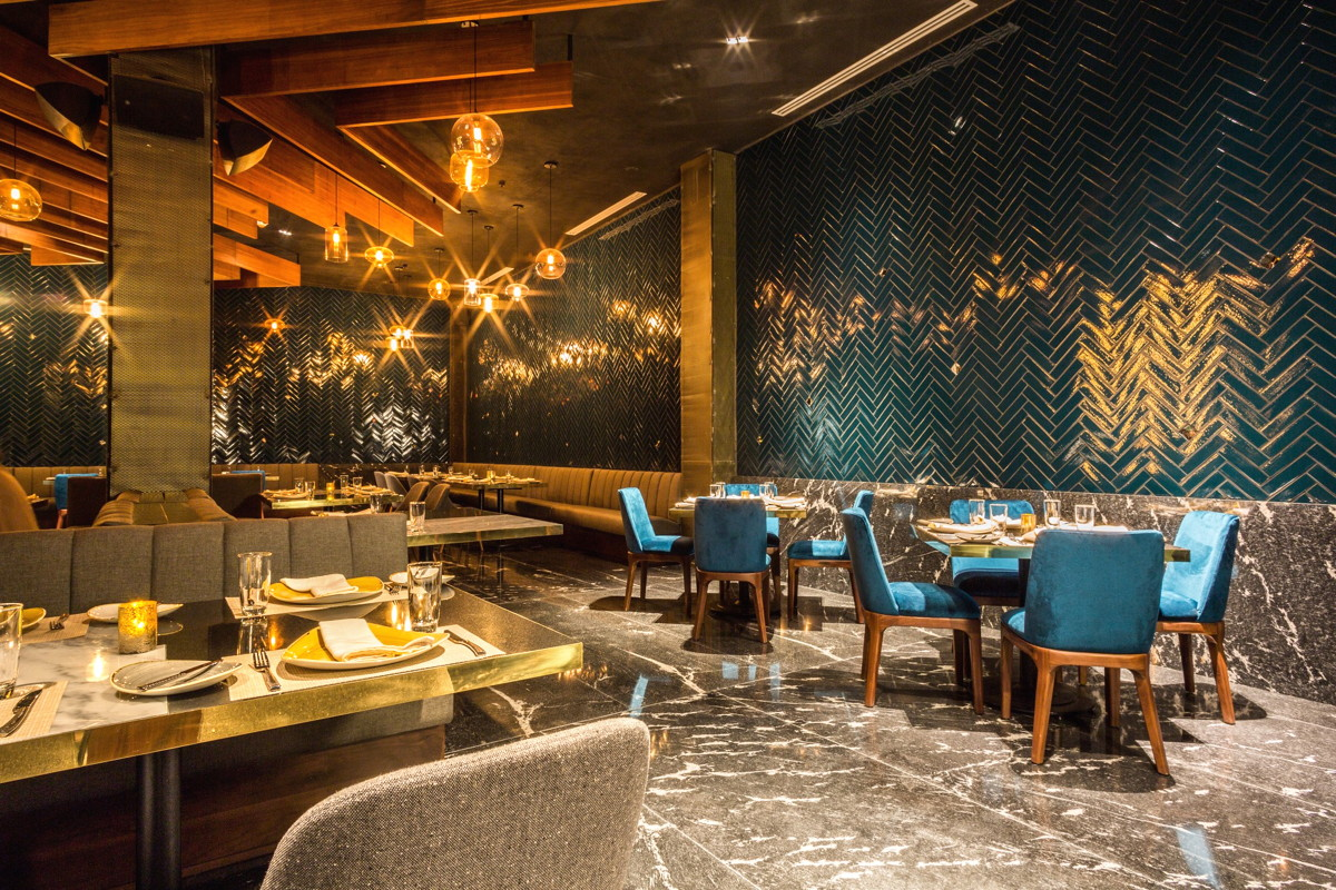 Inside Frida, one of Grand Velas Los Cabos' gourmet restaurants. Photo courtesy of Velas Resorts.