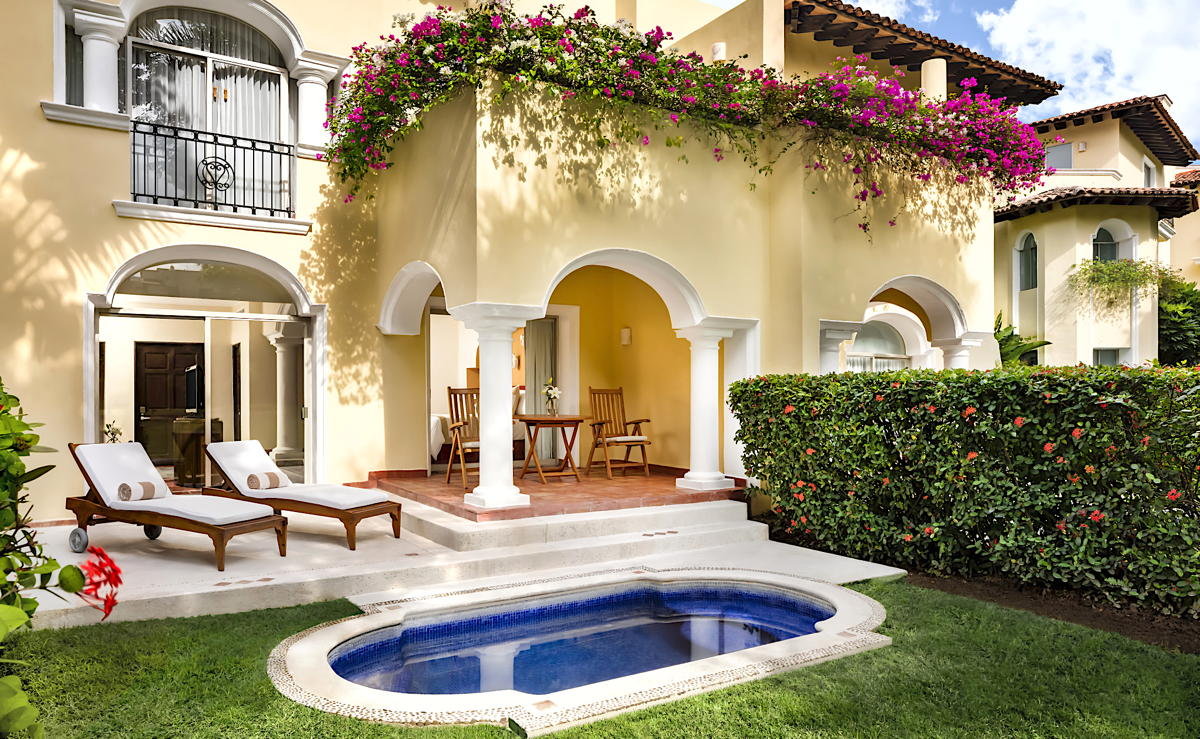 Many suites at Casa Velas have their own private plunge pool. (Velas Resorts)