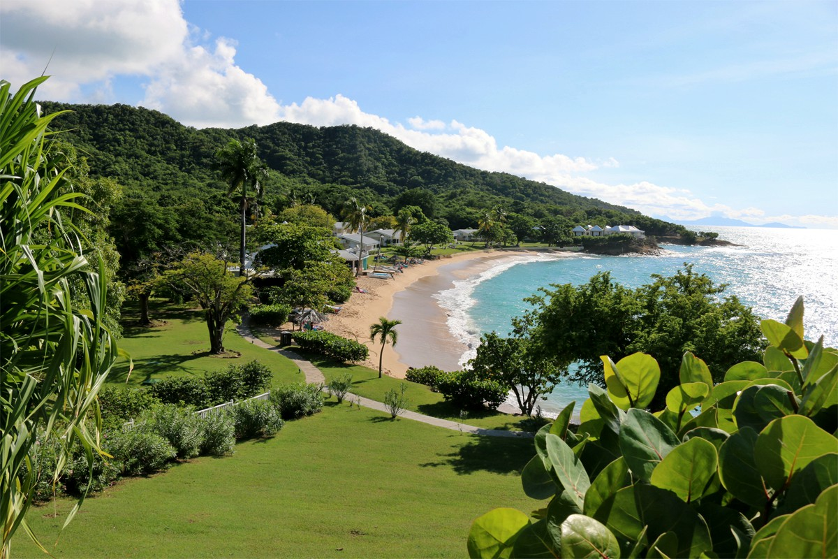 Hawksbill Resort has four private beaches, including Antigua's only nude beach.