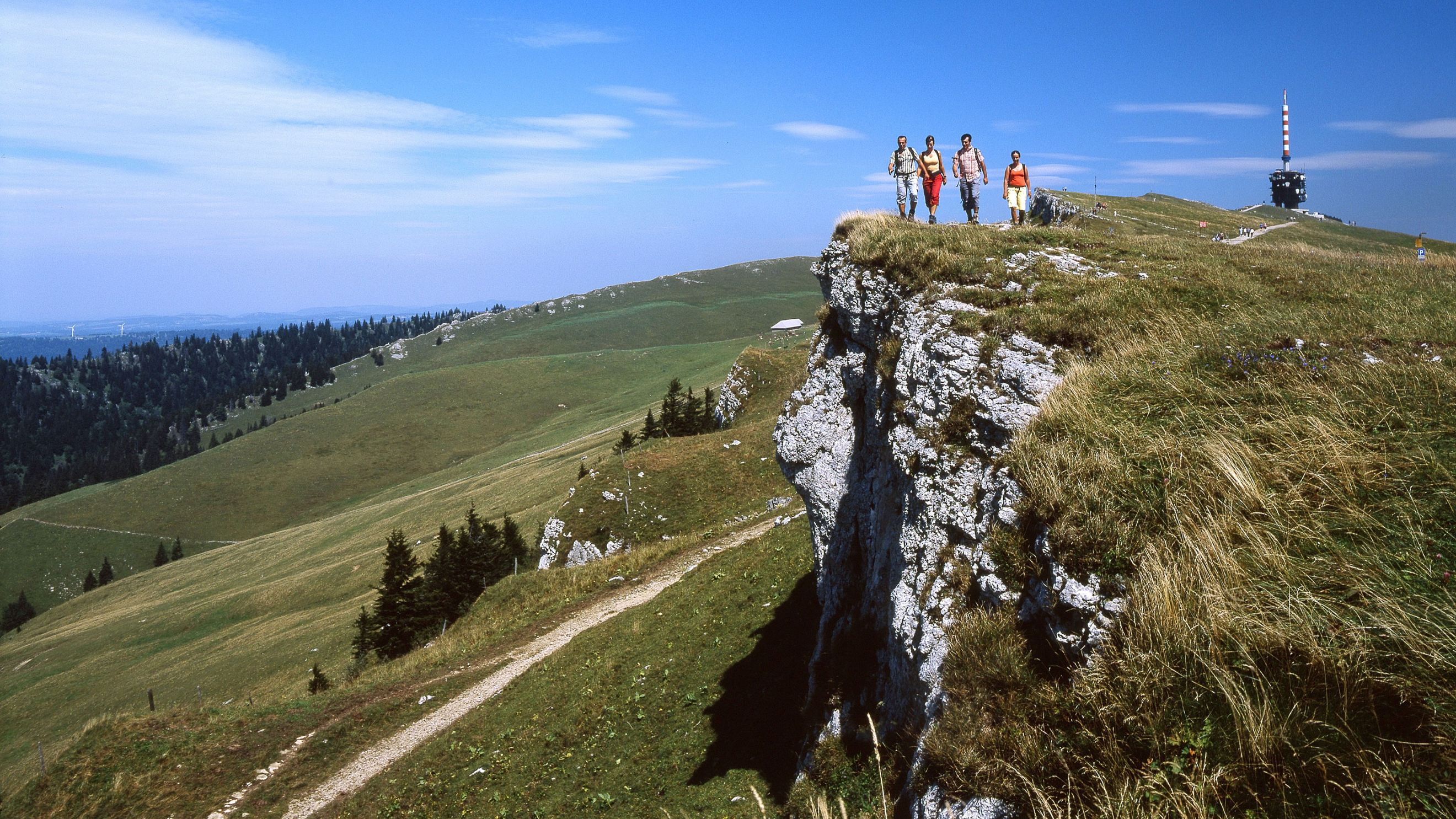 The Jura Crest Trail is called the classic among national long-distance trails. Photo: eurotrek.ch