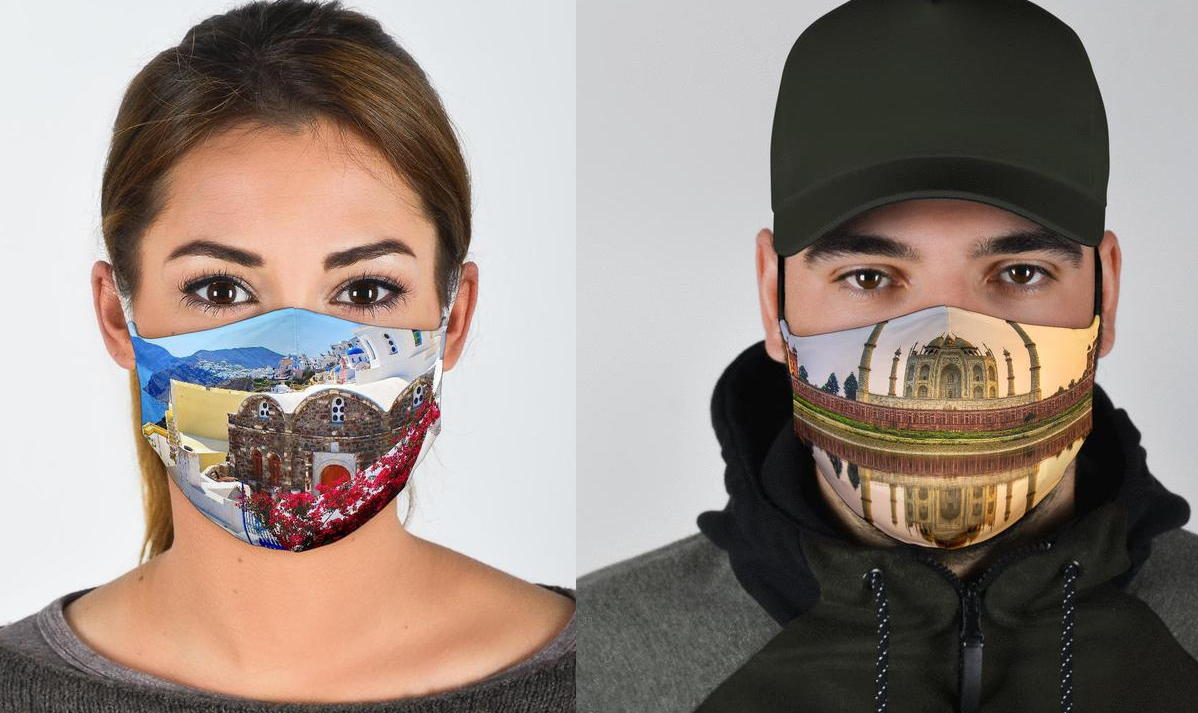 Canadian travel advisors can sell the masks through an affiliate program Keith has set up. (caspermasks.com)