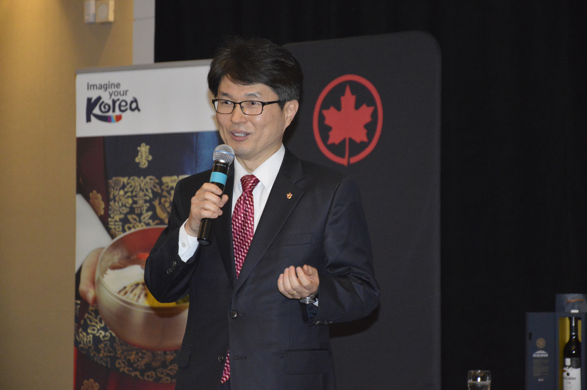 John Park, director – Toronto office, Korea Tourism Organization
