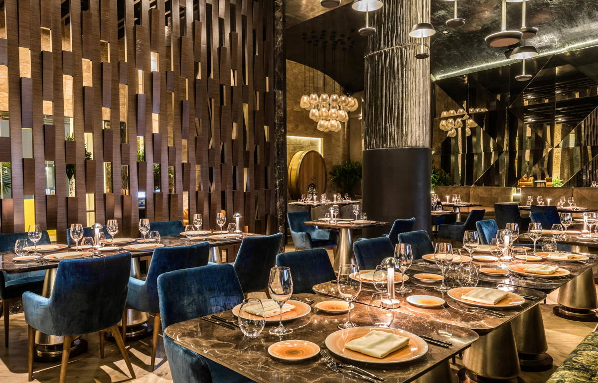 Italian-Mediterranean eatery Lucca is one of four Four Diamond-rated restaurants at Grand Velas. (Velas Resorts)