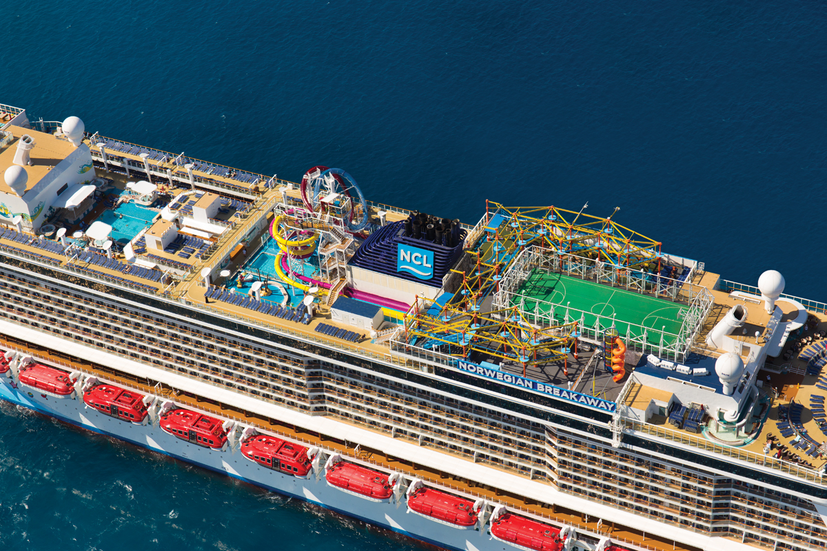 The Norwegian Breakaway (photo courtesy of NCL)