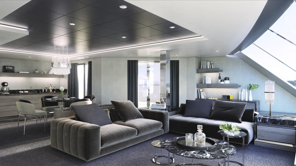 New Owner's Suite Yacht Club. (MSC)